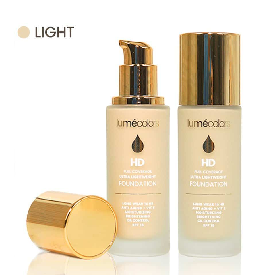 FOUNDATION LIGHT LUMECOLORS (10)